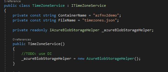 Dependency Injection In Azure Functions V2 - Kloud Blog
